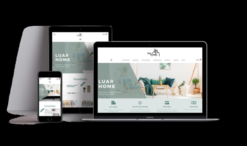tienda online responsive